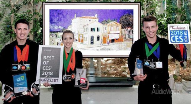 LG собрала награды на CES 2018