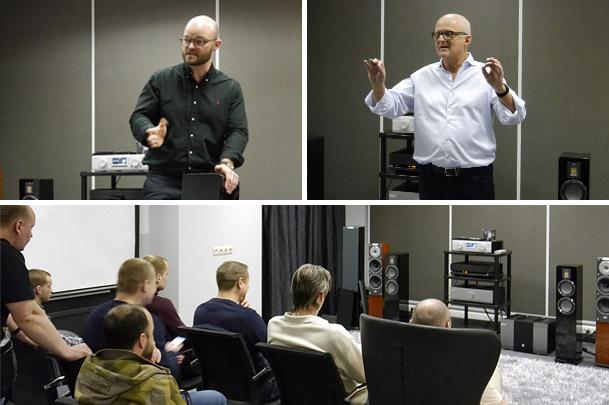 Презентация акустики Audiovector