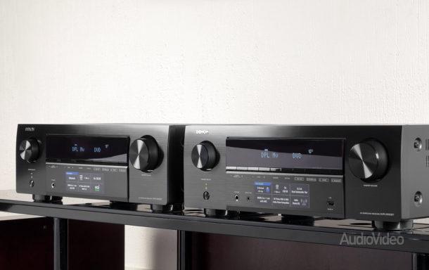 AV-ресиверы Denon AVR-X250BT и AVR-X550BT