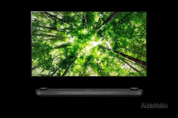 OLED телевизор и аудиофильский саундбар LG