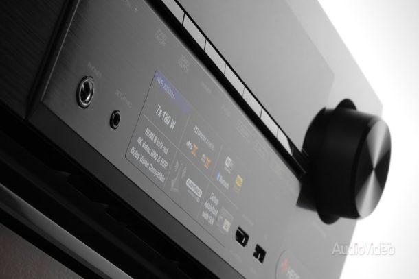 AV-ресивер Denon AVR-X3500H с встраиваемой акустикой Focal