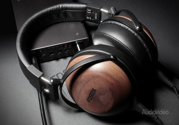 Наушники Fostex TH610 и ЦАП-усилитель Fostex HP-A4