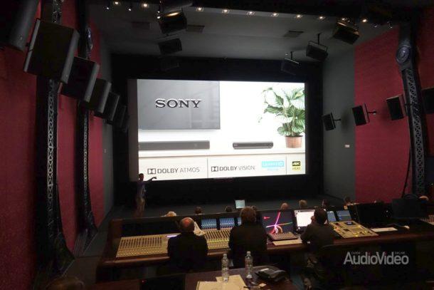 SONY продемонстрировала Dolby Atmos