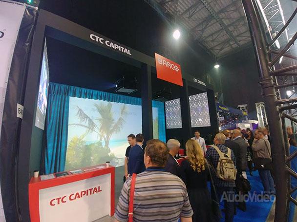 CTC CAPITAL и Barco на NAMM 2018