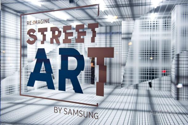 SAMSUNG дополнила реальность стрит-артом