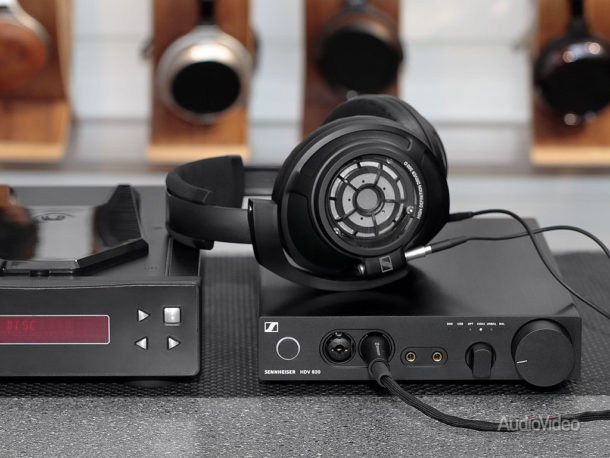 Наушники Sennheiser HD 820 и ЦАП-усилитель HDV 820
