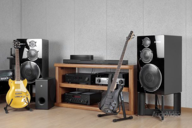 Акустика Yamaha MusicCast Bar 400 и MusicCast50