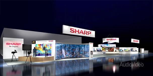 Sharp покажет 8К