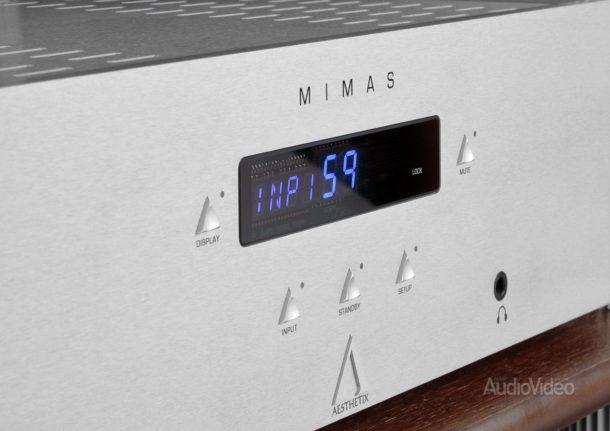 Интегральный усилитель Aesthetix Mimas