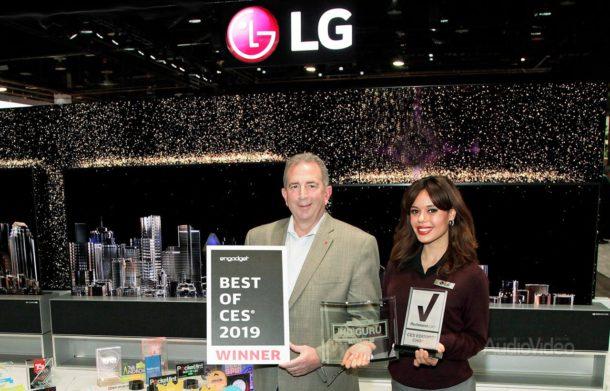 LG получила более 140 наград