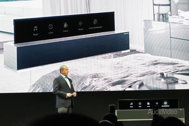 Телевизор LG с гибким экраном