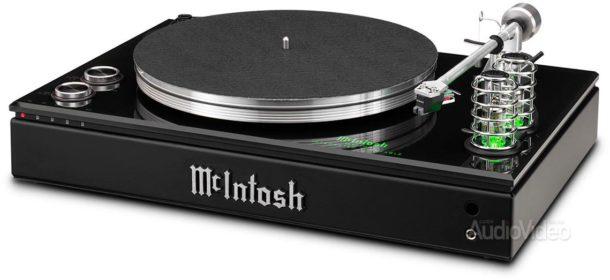 MCINTOSH скрещивает винил, лампы и цифровое усиление