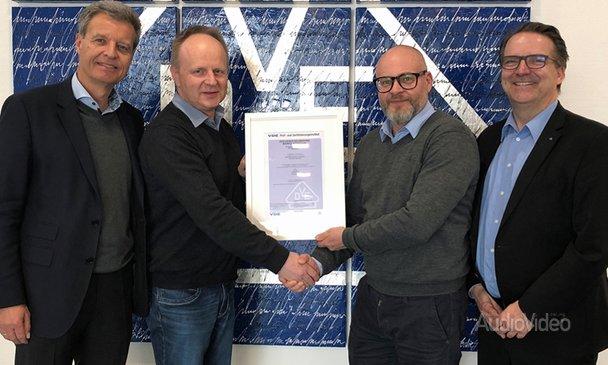 BURMESTER получила сертификат