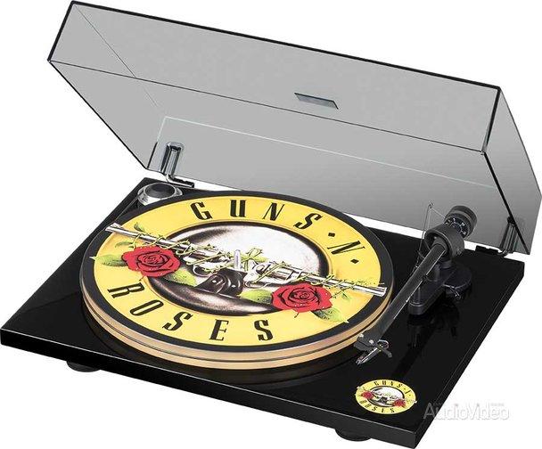 Вертушка PRO-JECT для фанатов Guns N' Roses