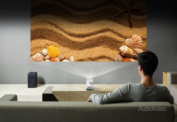 Проекторы LG: компактные, лазерные, красивые
