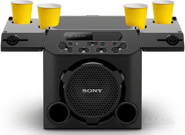 Колонки SONY: пей и слушай