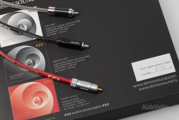 Межблочные кабели Slonov Sound Design