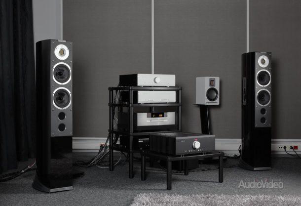Система с усилителями Musical Fidelity