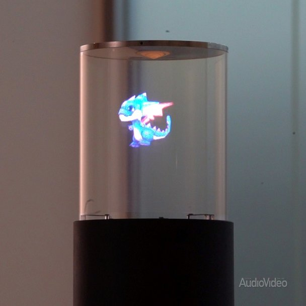 SONY показала голографический дисплей