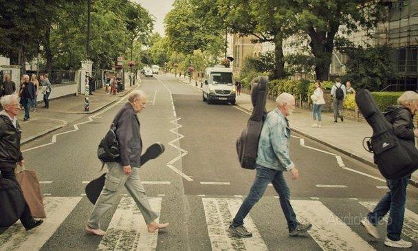 Трое друзей Леннона, Харрисона и Маккартни