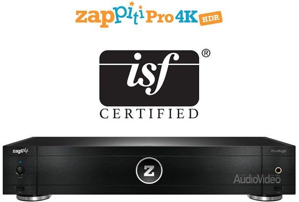 Плеер ZAPPITI сертифицирован ISF