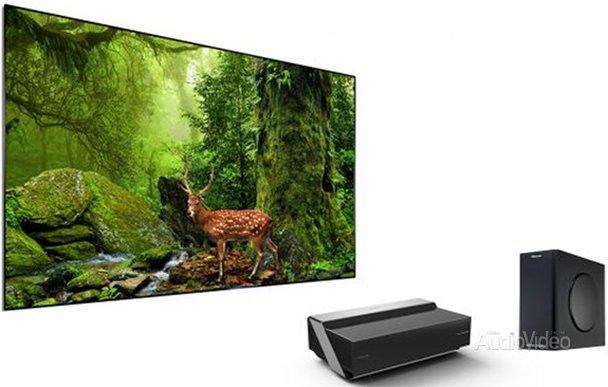 HISENSE обновила лазерный телевизор