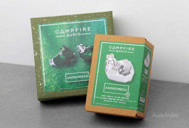 Арматурные наушники Campfire Andromeda и Andromeda S