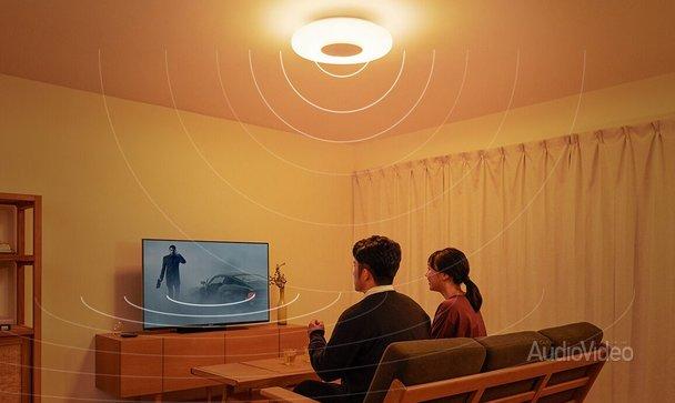 SONY светит и звучит с потолка