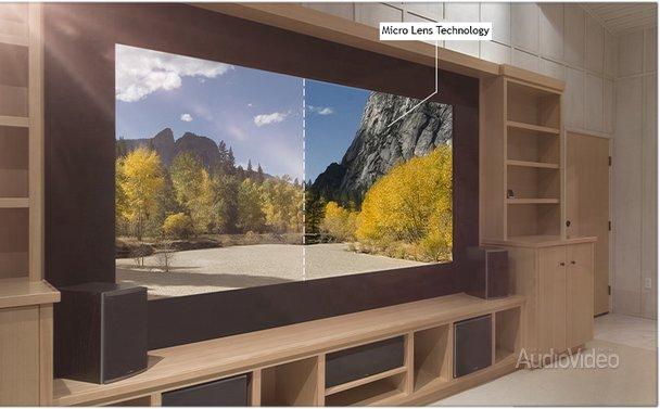 Экраны ELUNEVISION с избирательным отражением