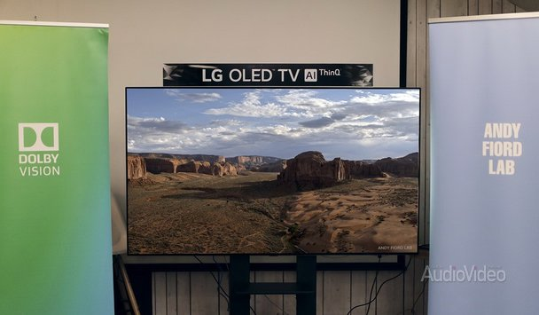 Телевизор LG выбран для мастеринга в Dolby Vision