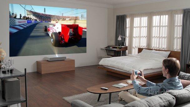 Лазерный проектор LG для дома