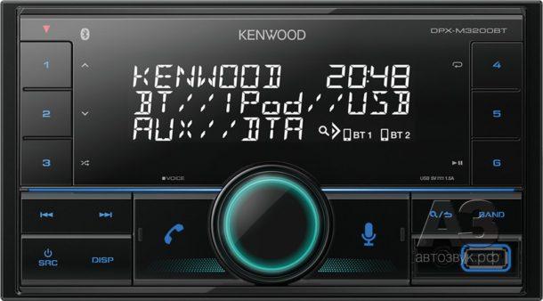 Новые головные устройства Kenwood формата 2DIN