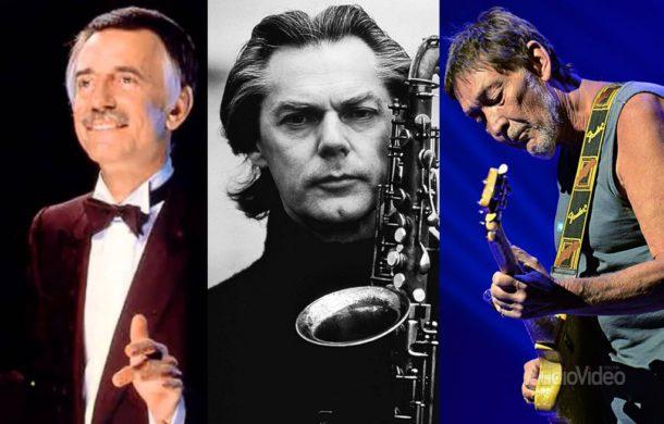 Палочка, саксофон, гитара: три мартовских именинника