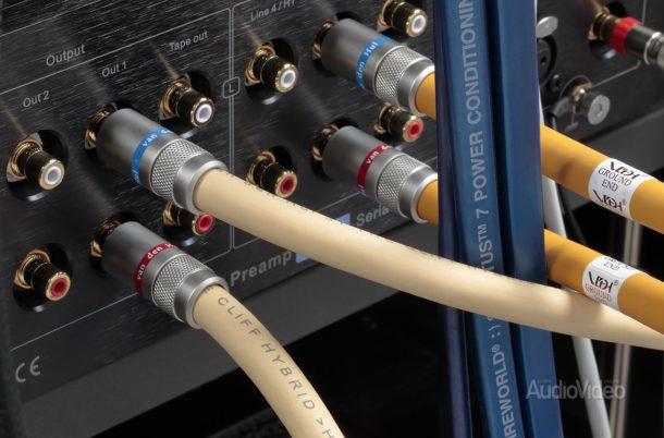 Система Ayon с кабелями Van den Hul 3T