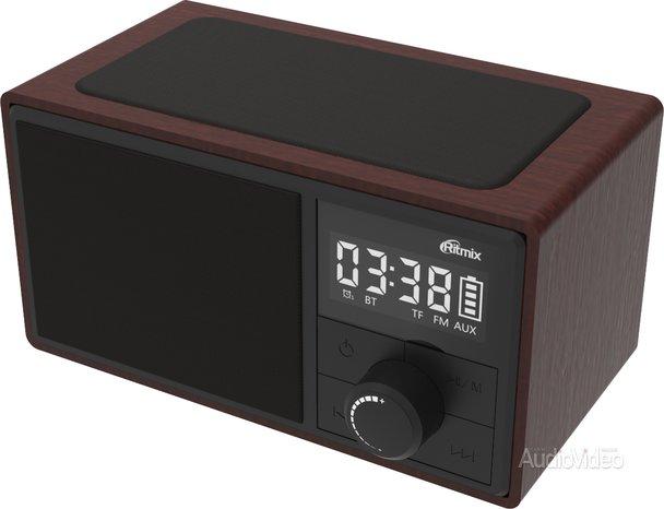 Часы RITMIX зарядят и разбудят