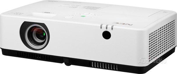 Компактный, легкий и яркий проектор NEC