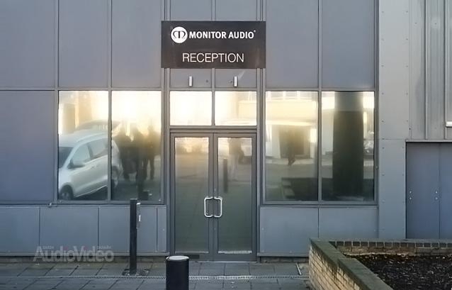 Посещение головного офиса Monitor Audio