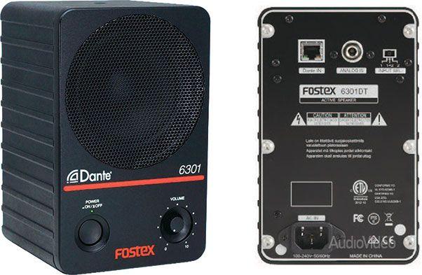 FOSTEX поддержал Dante