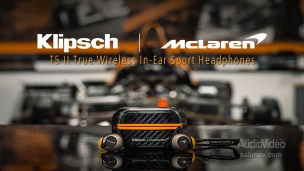 KLIPSCH – в гонке с командой с McLaren