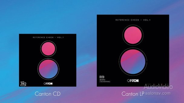 Демо-диски от CANTON