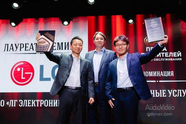 Очередная победа LG