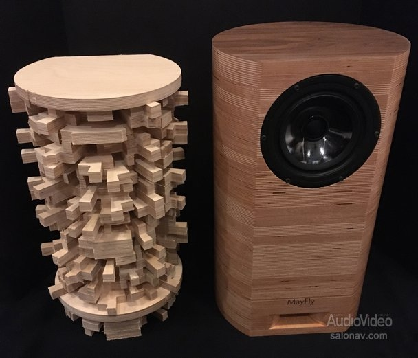 MAYFLY AUDIO спрятала «горизонт» в колонки