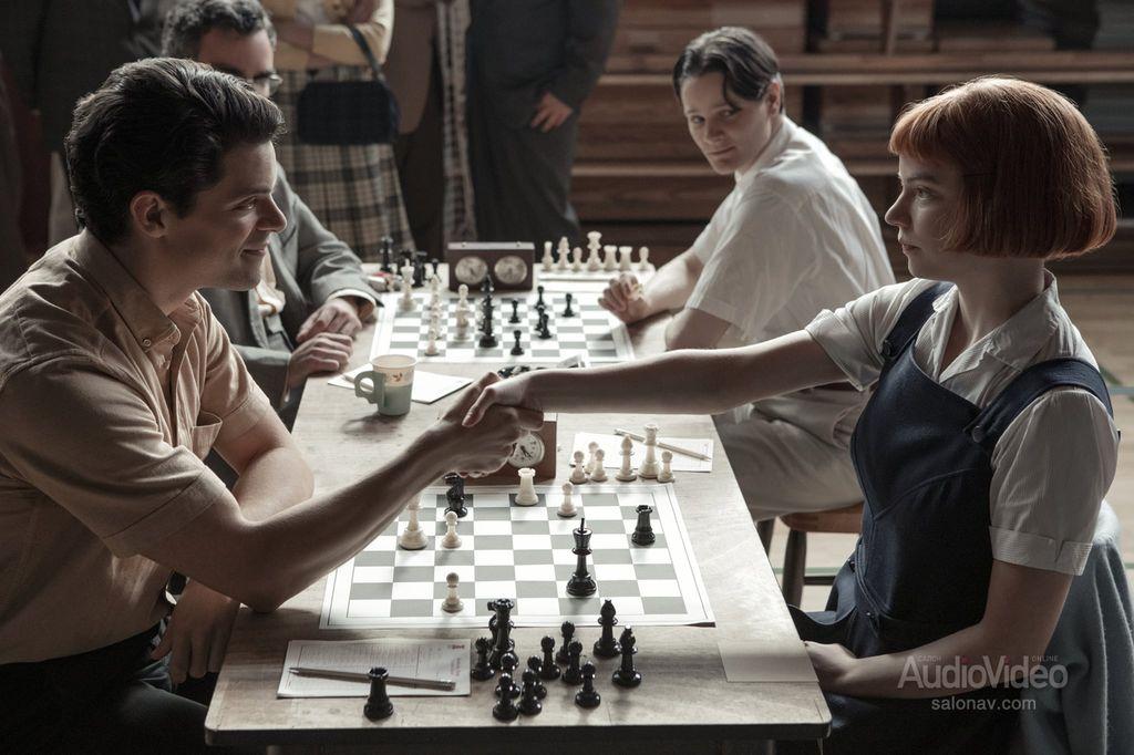 The Queen's Gambit – «Ход королевы»   журнал SalonAV