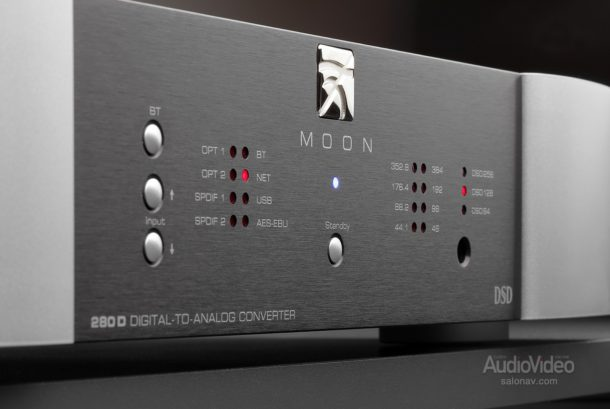 Сетевой проигрыватель/ЦАП Simaudio Moon Neo 280D