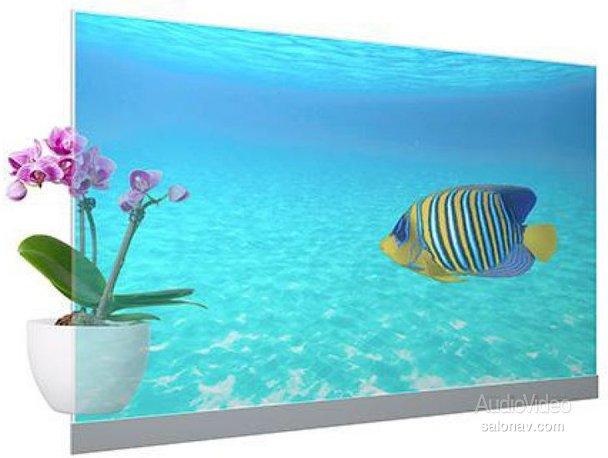 Прозрачные OLED-дисплеи PANASONIC