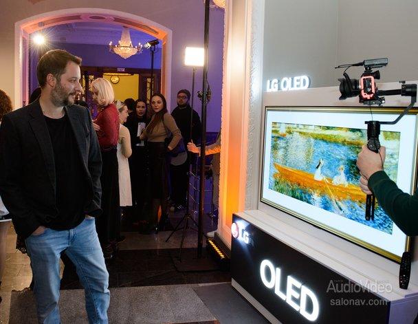 LG показала OLED бомонду