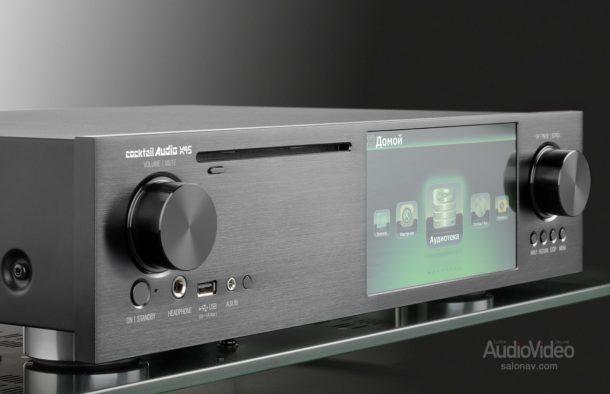 Сетевой аудио проигрыватель Cocktailaudio X45