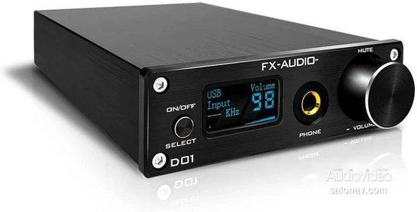 Новый настольный ЦАП FX AUDIO