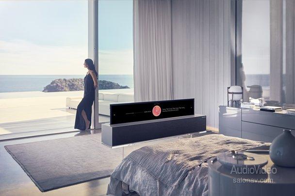 LG развернула сворачиваемые ТВ