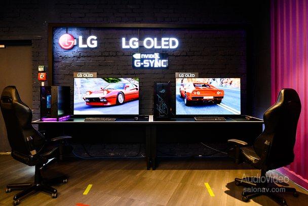 Телевизоры LG – на арене